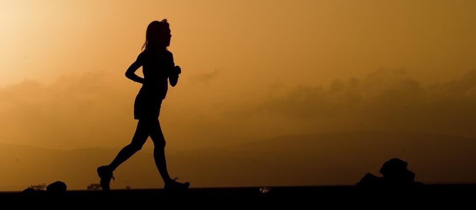 Long distance running movement pattern